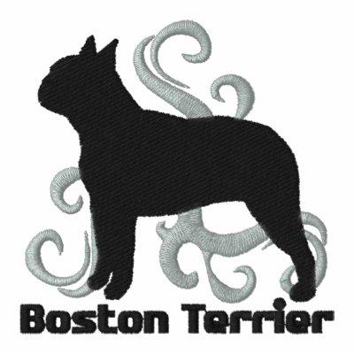 Boston tribal Terrier Polo Bordado