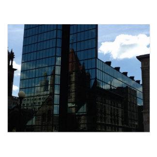 Boston Trinity Church / John Hancock Tower Postcard
