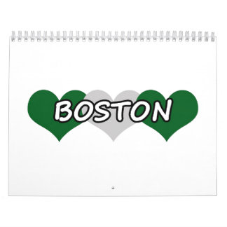 Boston Triple Hearts Calendar