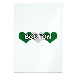 Boston Triple Hearts Invites