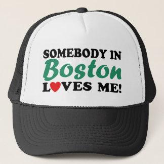 Boston Trucker Hat