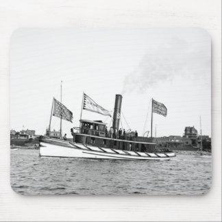 Boston Tugboat: late 1800s Mouse Pad