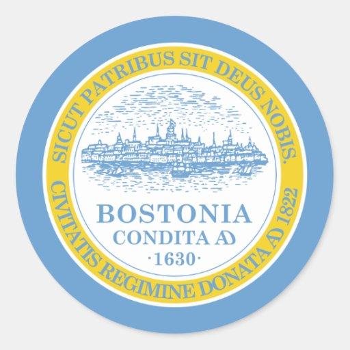 Boston, United States Sticker