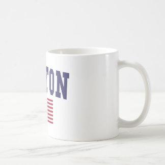 Boston US Flag Coffee Mug