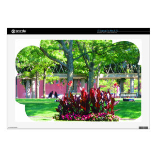"""Boston USA America  Green Nature Photography Decal For 17"""" Laptop"""