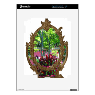 Boston USA America  Green Nature Photography Decal For iPad 2