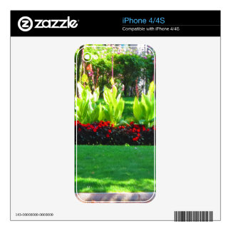 Boston USA America  Green Nature Photography Decals For The iPhone 4S