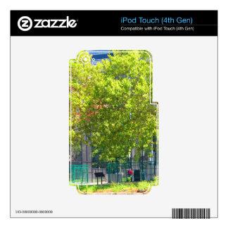 Boston USA America  Green Nature Photography iPod Touch 4G Skins
