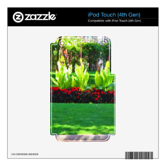 Boston USA America  Green Nature Photography Decal For iPod Touch 4G