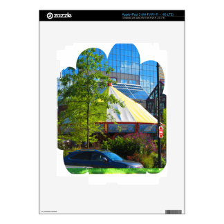 Boston USA America  Green Nature Photography Skins For iPad 3
