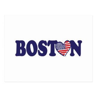 Boston USA Postcard