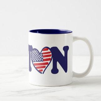 Boston USA Two-Tone Coffee Mug