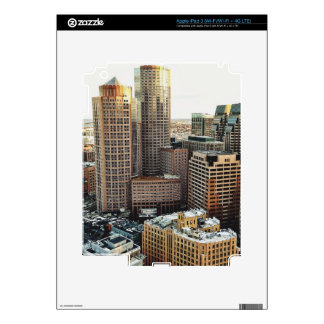 Boston view decal for iPad 3