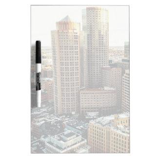 Boston view Dry-Erase whiteboard