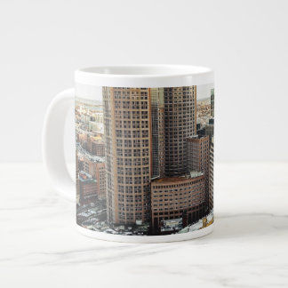 Boston view giant coffee mug