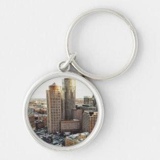 Boston view keychain