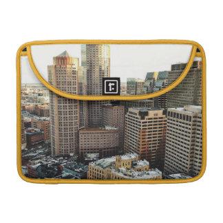 Boston view MacBook pro sleeve
