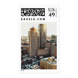 Boston view postage