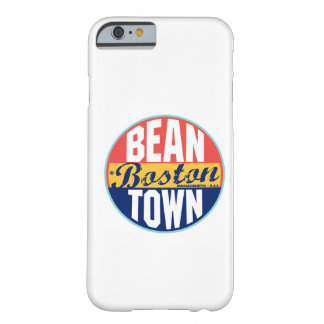 Boston Vintage Label Barely There iPhone 6 Case