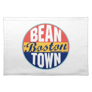 Boston Vintage Label Cloth Placemat