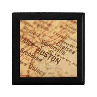 BOSTON Vintage Map Gift Boxes
