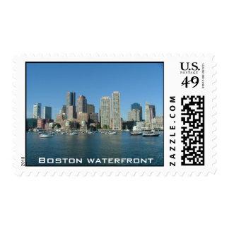 Boston Waterfront Postage Stamps