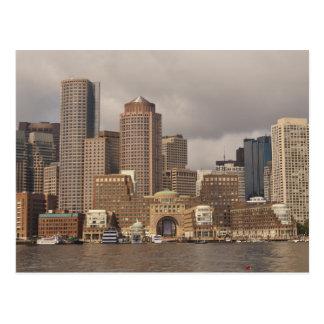 Boston Waterfront Postcard