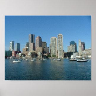 Boston Waterfront Poster