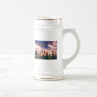 Boston Waterfront TEXT Boston Mugs