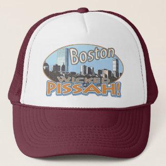Boston Wicked Pissah Gear by Mudge Studios Trucker Hat