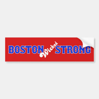 Boston Wicked Strong April 15, 2013 Bumper Sticker