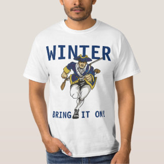 Boston Winter T-shirts
