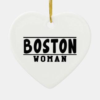 Boston woman designs christmas tree ornaments