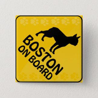 Boston Xing Button