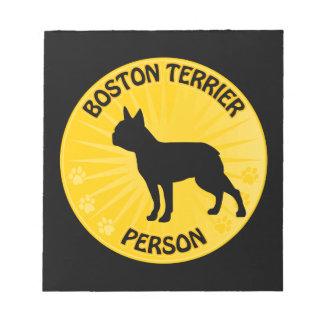 Boston Xing Notepad