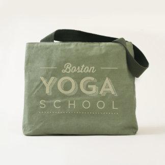 Boston Yoga School Canvas Tote by UBUNTU Made
