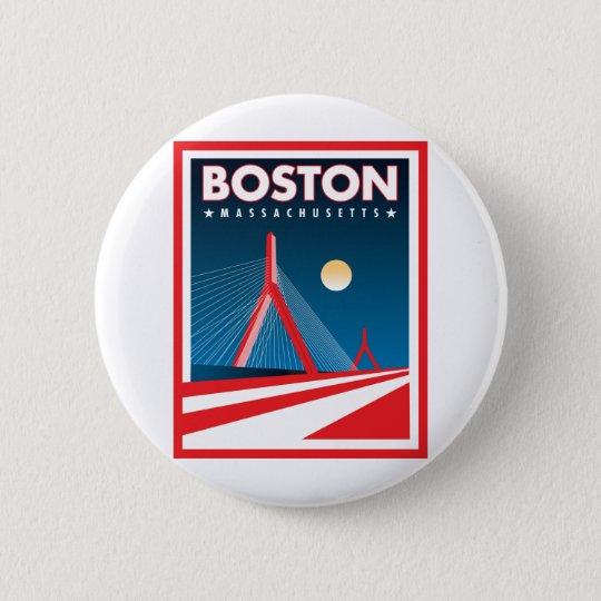 Boston Zakim Bridge Button