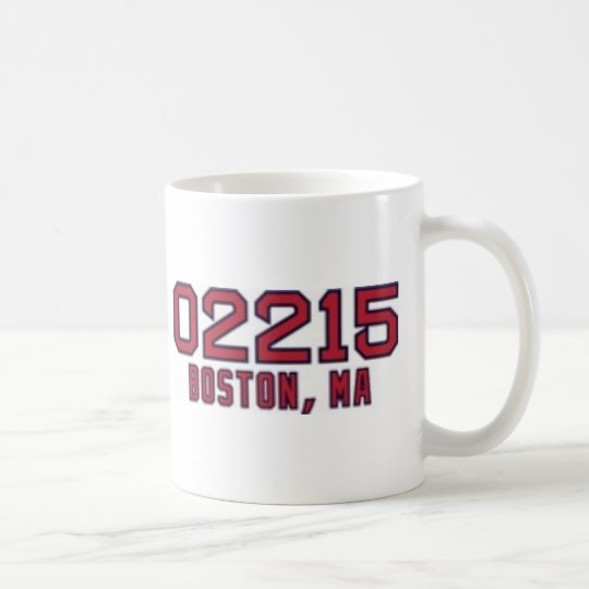 Boston ZipCode Coffee Mug
