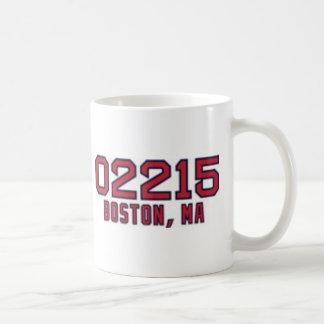 Boston ZipCode Coffee Mug