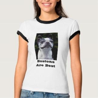 Bostons Are Best Boston Terrier T-Shirt