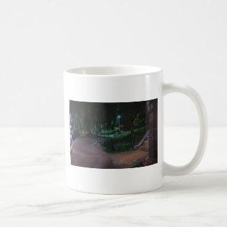 Boston's Public Garden Classic White Coffee Mug