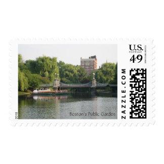 Boston's Public Garden Postage Stamps
