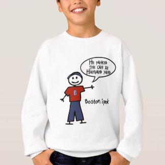 "Bostonspeak ""He Pahked the Cah..."" He Parked Car.. Sweatshirt"