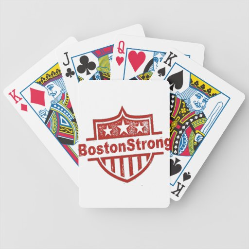 BostonStrongShield.png Baraja Cartas De Poker