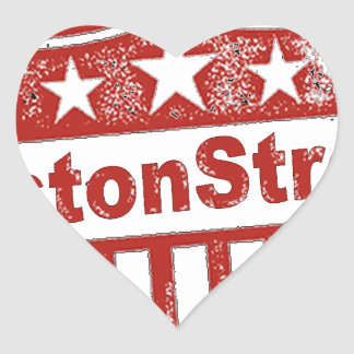 BostonStrongShield.png Heart Sticker