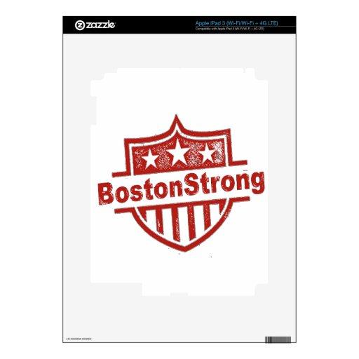 BostonStrongShield.png Pegatinas Skins Para iPad 3
