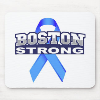 BostonStrongwithRibbon.jpg Mouse Pad