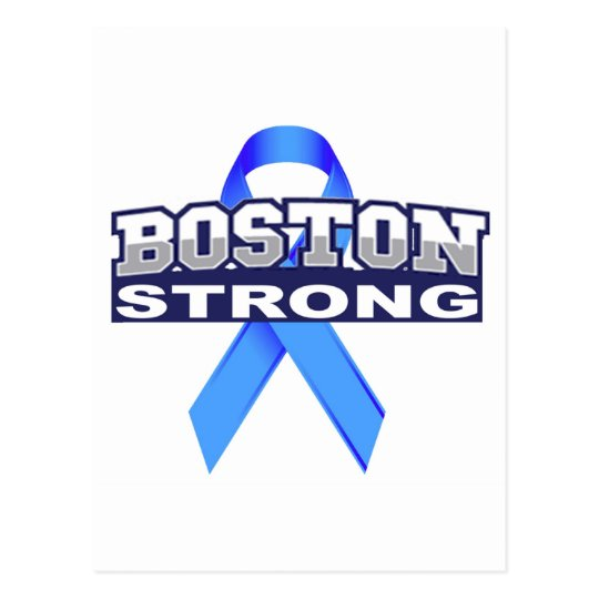 BostonStrongwithRibbon.jpg Postcard