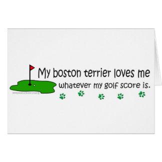 BostonTerrier Card