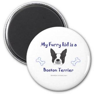BostonTerrier Imán De Frigorífico